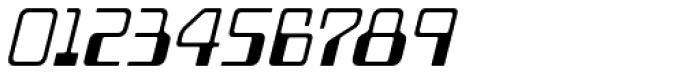 Minicomputer Light Italic Font OTHER CHARS