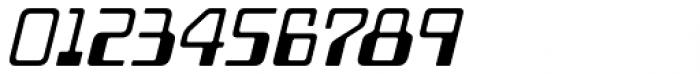 Minicomputer Regular Italic Font OTHER CHARS