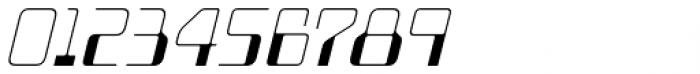 Minicomputer Ultra Light Italic Font OTHER CHARS