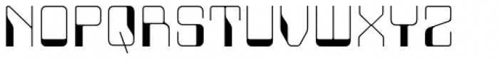 Minicomputer Ultra Light Font UPPERCASE