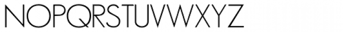 Minima Font UPPERCASE