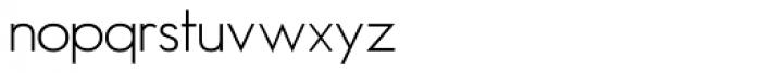 Minima Font LOWERCASE
