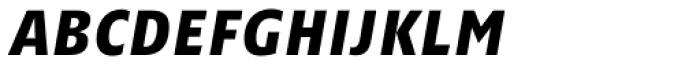 Minimala Bold Italic Caps Font LOWERCASE