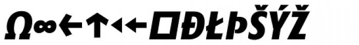 Minimala Exbo Italic Caps Expert Font UPPERCASE
