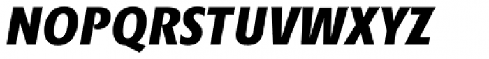Minimala Exbo Italic Caps Font UPPERCASE