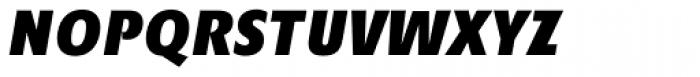 Minimala Exbo Italic Caps Font LOWERCASE