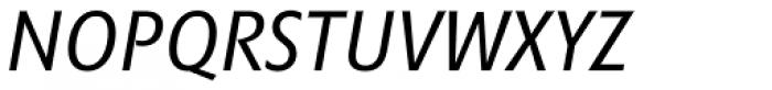Minimala Italic Font UPPERCASE