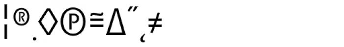 Minimala Light Expert Font OTHER CHARS