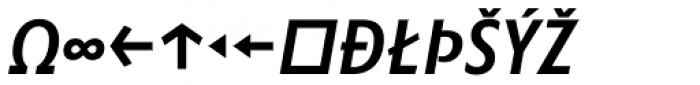 Minimala Medium Italic Caps Expert Font UPPERCASE