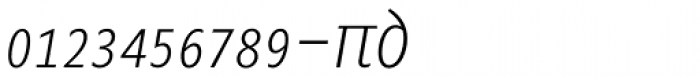 Minimala Thin Italic Expert Font LOWERCASE