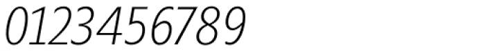 Minimala Thin Italic Font OTHER CHARS