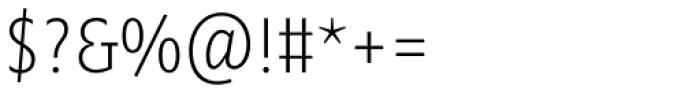 Minimala Thin TF Font OTHER CHARS