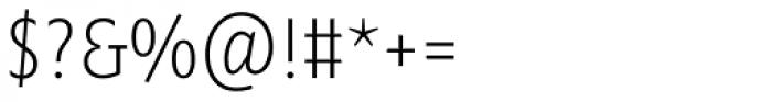 Minimala Thin Font OTHER CHARS