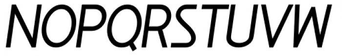 Minimalista Heavy Italic Font UPPERCASE