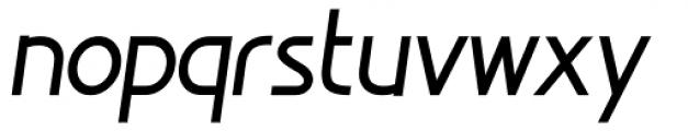 Minimalista Heavy Italic Font LOWERCASE