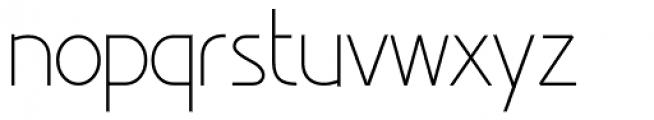 Minimalista Light Font LOWERCASE