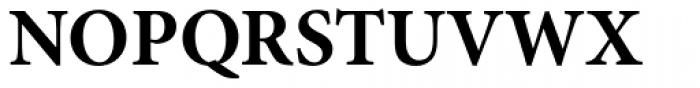 Minion Pro Bold Font UPPERCASE