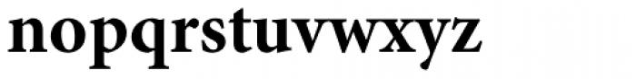 Minion Pro Bold Font LOWERCASE