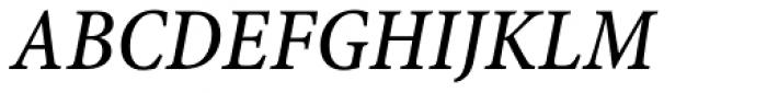 Minion Pro Caption Cond Medium Italic Font UPPERCASE