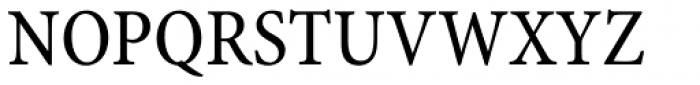 Minion Pro Caption Cond Regular Font UPPERCASE