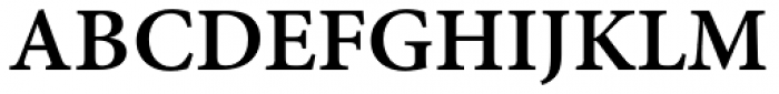 Minion Pro Caption SemiBold Font UPPERCASE