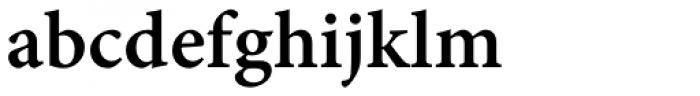 Minion Pro Caption SemiBold Font LOWERCASE