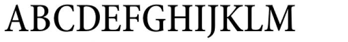 Minion Pro Cond Medium Font UPPERCASE