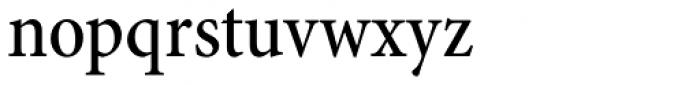 Minion Pro Cond Medium Font LOWERCASE
