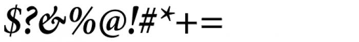Minion Pro Cond SemiBold Italic Font OTHER CHARS