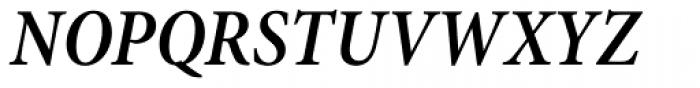 Minion Pro Cond SemiBold Italic Font UPPERCASE