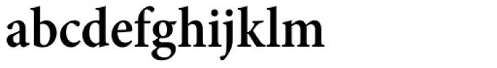 Minion Pro Cond SemiBold Font LOWERCASE