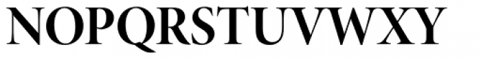 Minion Pro Display Bold Font UPPERCASE