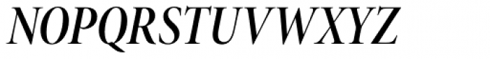 Minion Pro Display Cond SemiBold Italic Font UPPERCASE