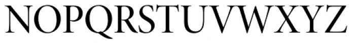 Minion Pro Display Medium Font UPPERCASE