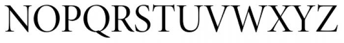 Minion Pro Display Regular Font UPPERCASE