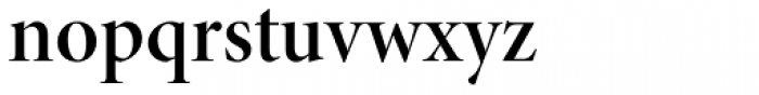 Minion Pro Display SemiBold Font LOWERCASE