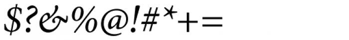 Minion Pro Italic Font OTHER CHARS