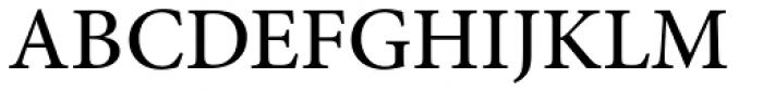 Minion Pro Medium Font UPPERCASE