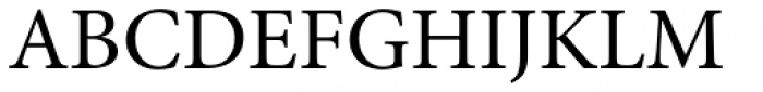 Minion Pro Regular Font UPPERCASE