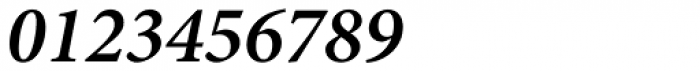 Minion Pro SemiBold Italic Font OTHER CHARS