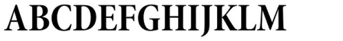 Minion Pro SubHead Cond Bold Font UPPERCASE