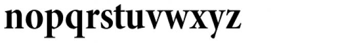 Minion Pro SubHead Cond Bold Font LOWERCASE