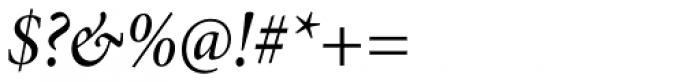 Minion Pro SubHead Cond Medium Italic Font OTHER CHARS