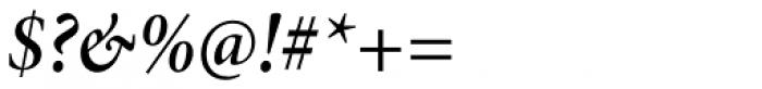 Minion Pro SubHead Cond SemiBold Italic Font OTHER CHARS