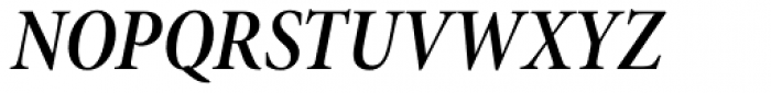 Minion Pro SubHead Cond SemiBold Italic Font UPPERCASE