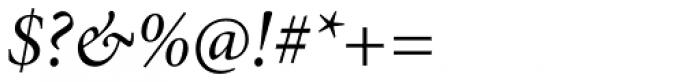 Minion Pro SubHead Italic Font OTHER CHARS