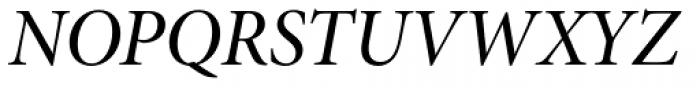 Minion Pro SubHead Medium Italic Font UPPERCASE