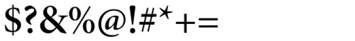 Minion Pro SubHead SemiBold Font OTHER CHARS