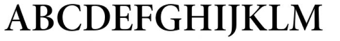 Minion Pro SubHead SemiBold Font UPPERCASE