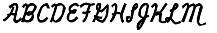 Miniver Air Raid Pro Font UPPERCASE
